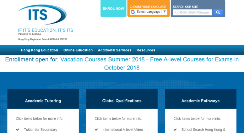 International A-Level lessons available online - Inside Recent
