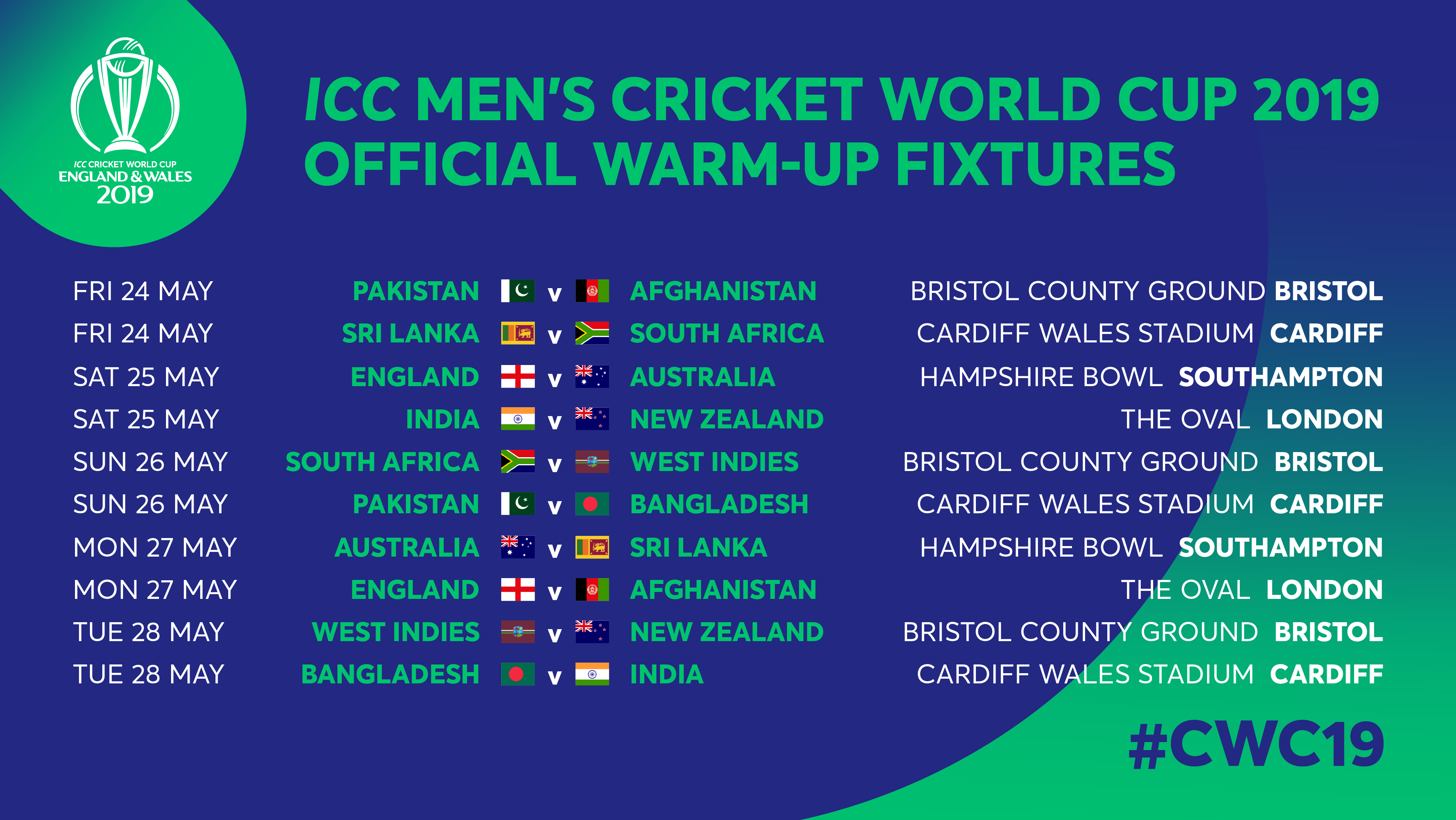 World Cup warm-up fixtures in May - Inside Recent